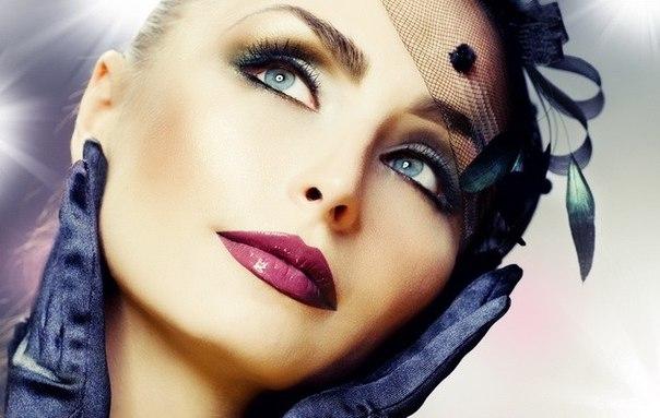 Дневной макияж для голубых глаз этапы нанесения