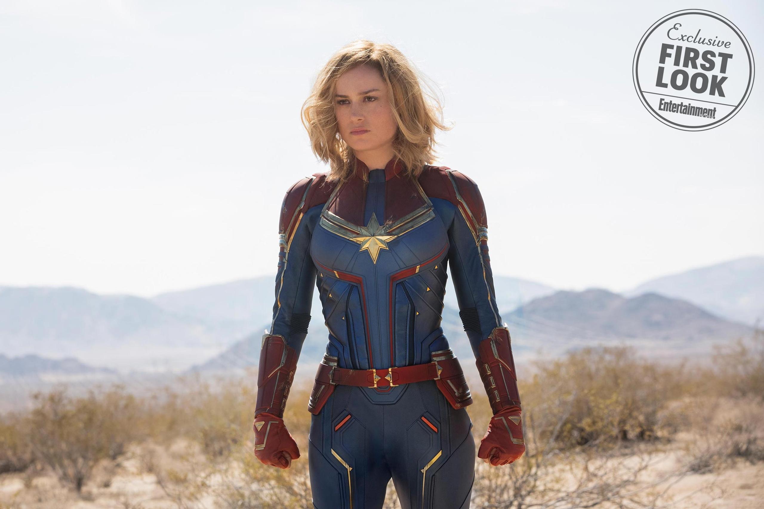 Первый взгляд на фильм «Капитан Марвел» в сентябрьском номер