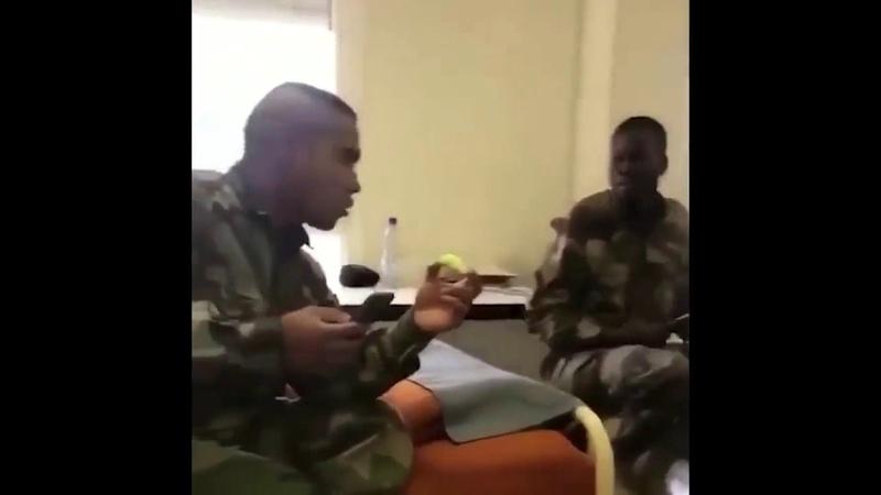 Русскоязычные солдаты французского легиона шпарят матом