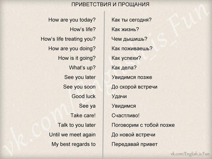 Лексика Английского Языка По Темам Знакомство