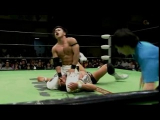 Mikey Nicholls & Shane Haste vs. Taiji Ishimori & Atsushi Kotoge (NOAH)