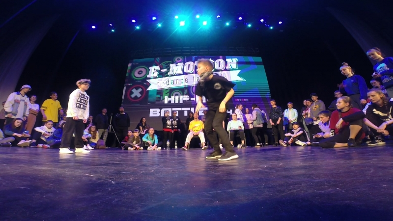 ИВАН ГРОЗНЫЙ | 1/4 FINAL | HIP HOP BATTLE KIDS PRO | E-MOTION DANCE FESTIVAL 2018