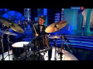 Александра Могилевич в проекте Большой Джаз на телеканале