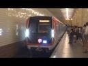 Вторая поездка на 81 765 766 767 2 МОСКВА и наземная реконструкция Филевской линии