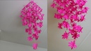 DIY Simple Home Decor Hanging Flowers Paper Craft