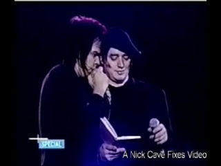 Nick Cave & Blixa Bargeld - Where the Wild Roses Grow (Live 1998)