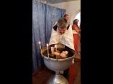 Крещение Софьи(купель)