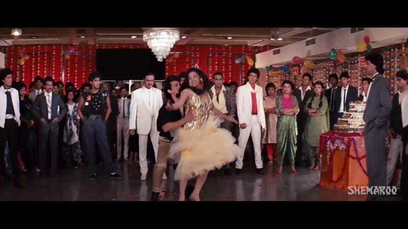 Ashla Bhosle Vijay Benedict - Hum To Hain Dil Ke Deewane [Love Love Love (1989)] [EnHardSub]