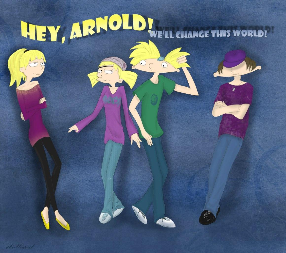 Арнольд и хельга у них был секс