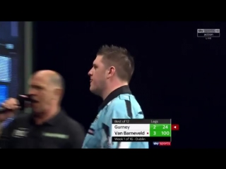 Daryl Gurney vs Raymond van Barneveld (2018 Premier League Darts / Week 1)