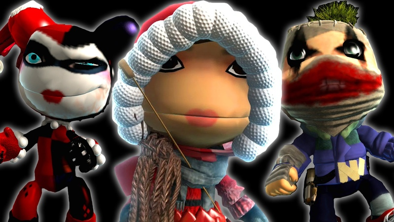 Epic LBP3 Costumes - Episode 16 - Tomb Raider Lara Croft , Harley Quinn , Joker and More
