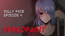 Sally Face Ep.4 | Speedpaint