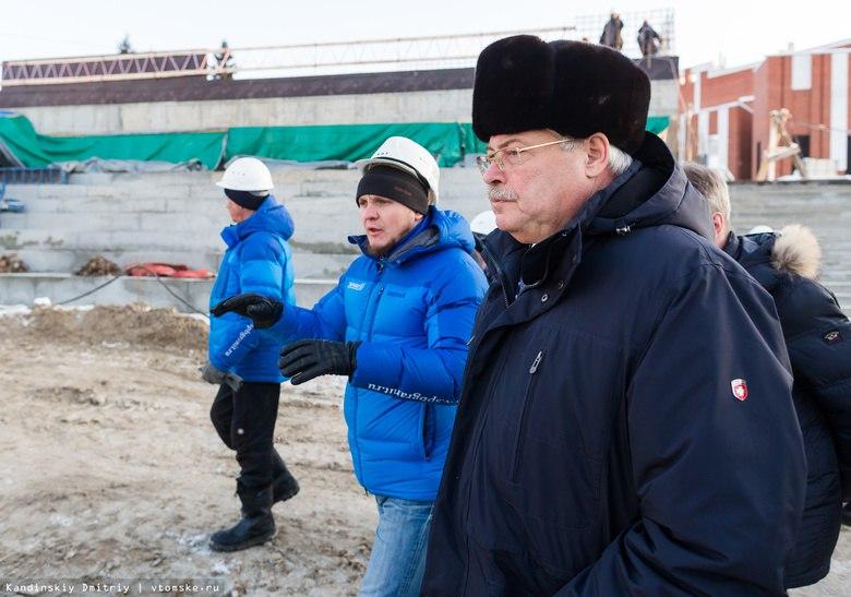 Реконструкция первого участка набережной Ушайки в Томске завершится осенью 2018г.