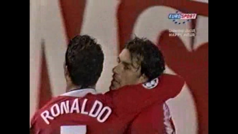 122 CL 2004 2005 Manchester United Sparta Praha 4 1 03 11 2004 HL