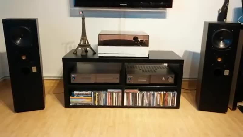Pioneer PD D6 ,Pioneer A A6 and JMlab Focal DB22