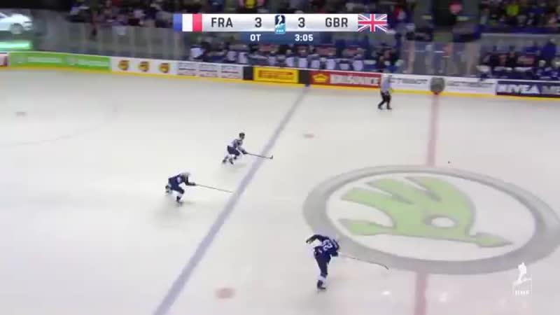 Первая сенсация хоккейного ЧМ - британцы горели французам 03, сумели сравнять, перевести и.mp4
