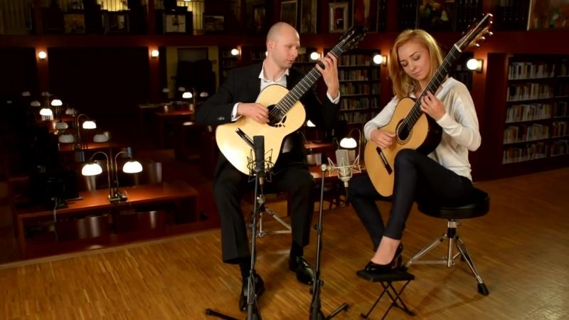 Kupiński Guitar Duo (Enrique Granados - Danza espanola)