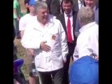 Жириновский и Грудинин спорят, кто победит на ЧМ