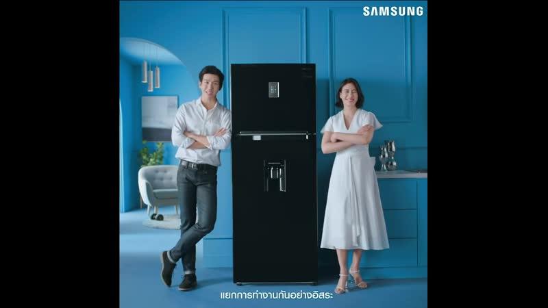 PJ в рекламе Samsung Twin Cooling Plus