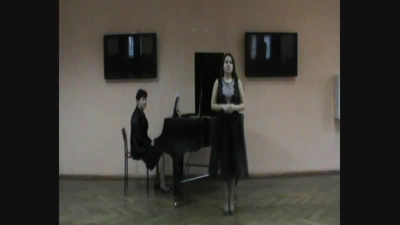 Лупандина Елизавета - муз.А.Скарлатти O cessate di piagarmi