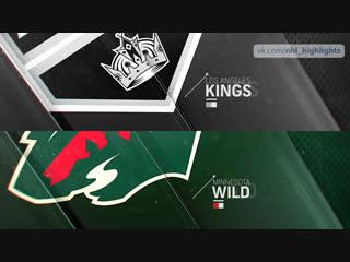 Los Angeles Kings vs Minnesota Wild Oct 25, 2018 HIGHLIGHTS HD