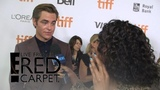 Chris Pine Reacts to His &amp Beyonce's E! People's Choice Noms E! Live from the Red Carpet