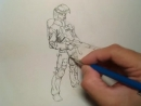 Riven Phoenix The Sketch Book 09 How To Draw People 4