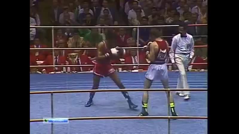 Бокс Армандо Мартинес-Александр Кошкин Олимпиада 1980 До 71 кг Финал