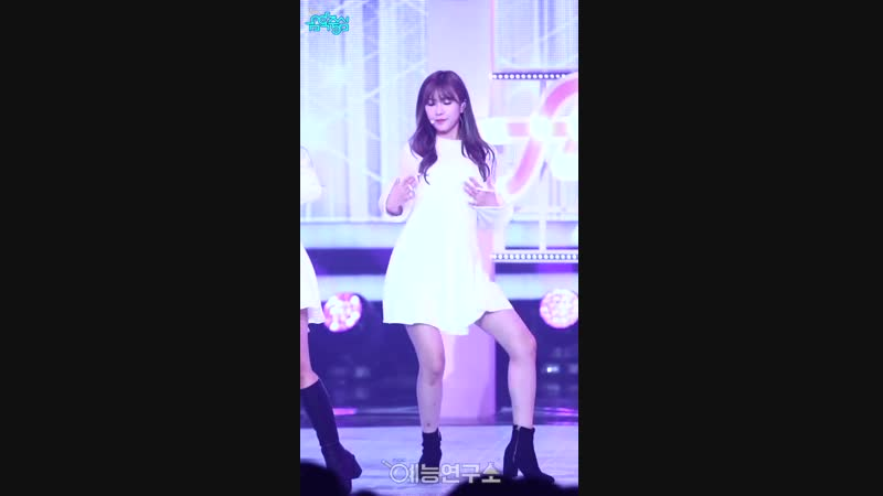 (161001) Music Core Fancam: Only One (Hayoung)