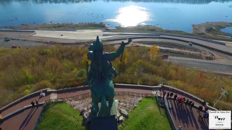 Памятник Салавату Юлаеву Уфа Республика Башкортостан.