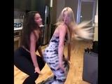 LeLe Pons ripped the dress dancing Brazilian music (FUNK) W Inanna Sarkis