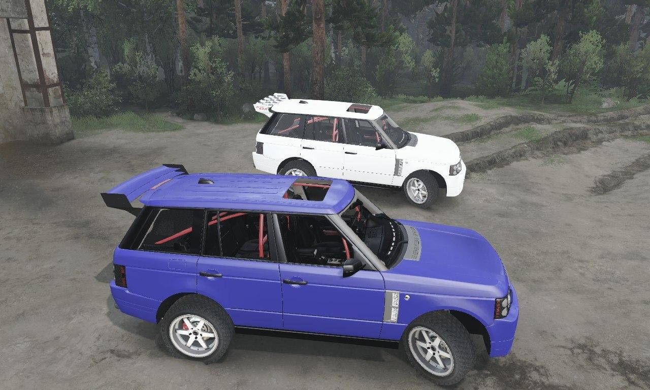 Range Rover Sport для 03.03.16 для Spintires - Скриншот 3