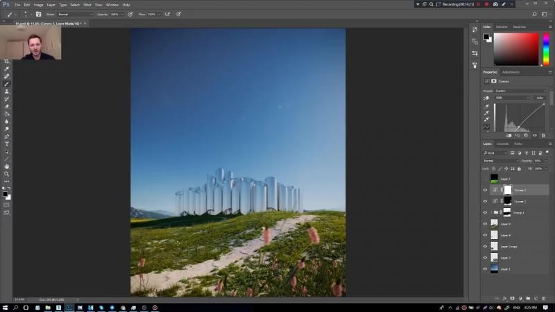 3Ds MAX. Создание экстерьера для известного испанского архитектора. (Артем Куприяненко - CG Incubator Academy)