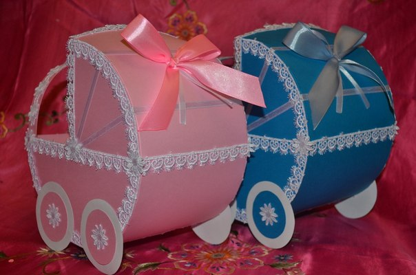 Как сделать свадебную коляску для денег