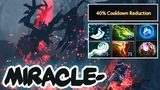 Miracle- Shadow Fiend -40 Cooldown Reduction + Octarine Core &amp Ethereal Blade LOW CD Build - Dota 2