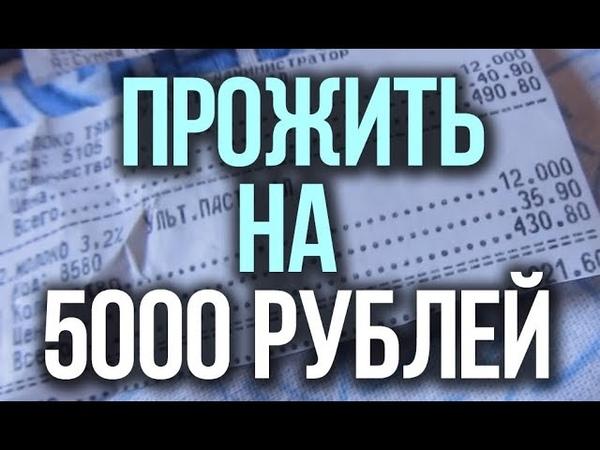 Как я пытаюсь ПРОЖИТЬ на 5000 рублей в месяц (трата на еду) | Выживание с Битардом 671