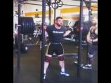 Роман Ворошилин - присед 320 кг 3 повтора