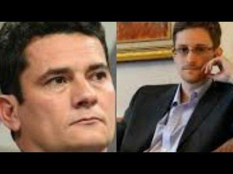 EXCLUSIVO: SÉRGIO MORO E EDWARD SNOWDEN, EX-AGENTE DA CIA, NA ESTORIL CONFERENCES. PORTUGAL. PARTE 2