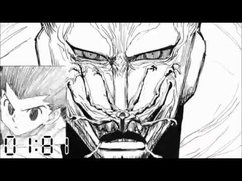 First 10 Seconds of the Palace Invasion (Real Time) [HUNTER x HUNTER manga, Chimera Ant arc]