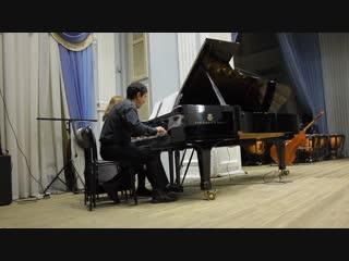 Фортепианный дуэт Татьяны и Дмитрия Силаевых.