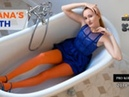 Diana's Orange Pantyhose Bath, Emma and Lilly - Magazine 2018-11(2)