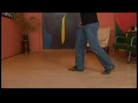 Basic Charleston Dance Steps : Charleston Dance: Leader Steps 1-4