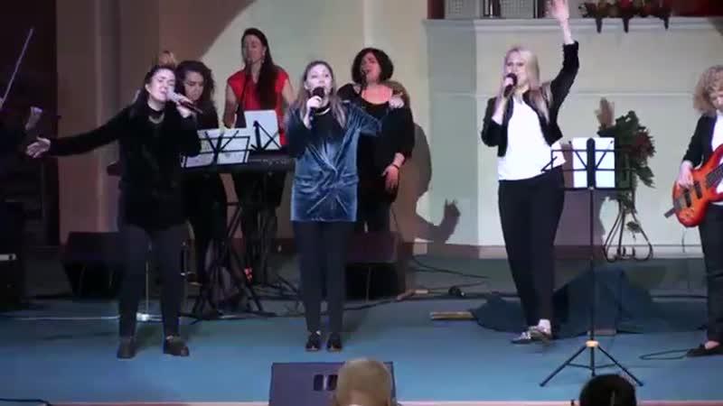 О, этот день - группа прославления ц.Ковчег 28.04.2019 Пасхальное служение