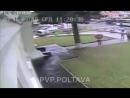 Відео з аварії в переході на Шевченка