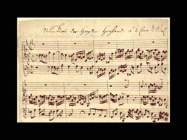 J.S. Bach: Nun komm der heiden Heiland BWV 660a - Bernardini, Luckhardt, Dirksen