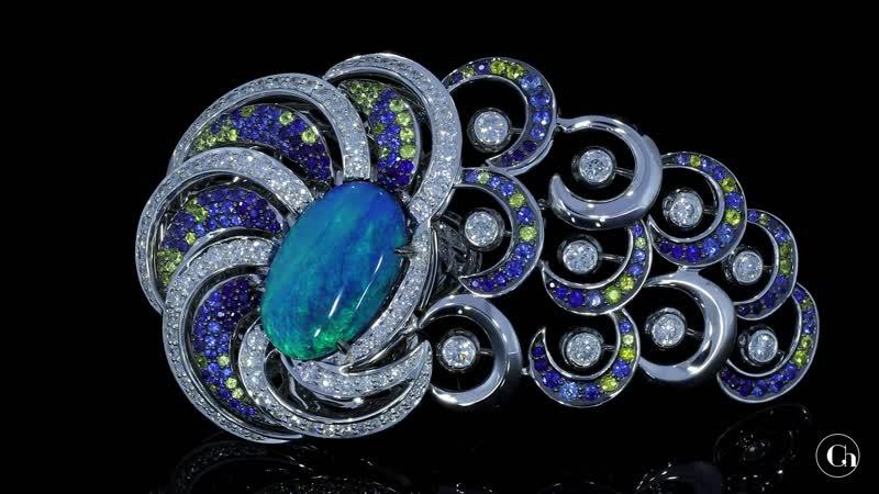 Кольцо Бирманский павлин