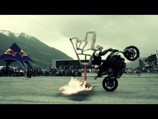 Rok Bagoros @ KINI Fullgas day 2013 / KTM 690 Duke stunt