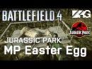 Battlefield 4 Jurassic Park Multiplayer Easter Egg - Unseen