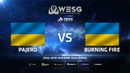 Pajero против Burning Fire, WESG 2018-2019 Ukraine Qualifier 2