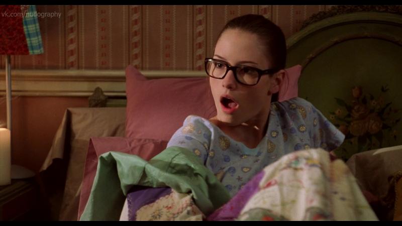 Кайлер Ли (Chyler Leigh) в фильме Недетское кино (Not Another Teen Movie, 2001, Джоел Галлен) 1080p - Голая? Секси